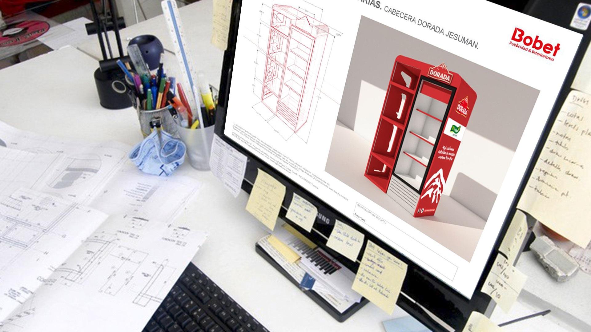 Diseño publicitario e industrial, fabricación e instalación de proyectos.